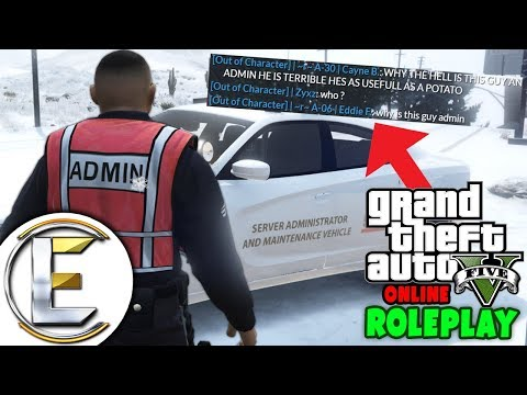 Worst GTA Admin In The World (GTA RP) - Grand Theft Auto 5 Roleplay