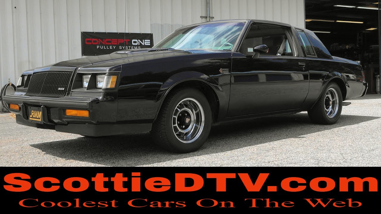 T Top Cars >> 1987 Buick Grand National T Top Mostly Original Youtube