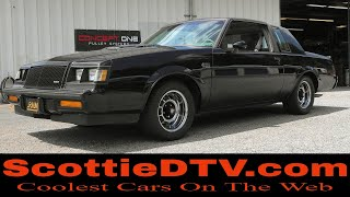 1987 Buick Grand National T-Top Mostly Original