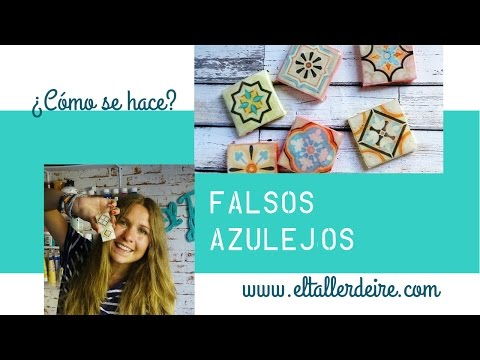 Como hacer azulejos en miniatura how to make miniatur for Paredes marmoleadas
