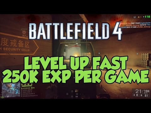Battlefield 4: How to get 250K POINTS per game