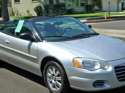 2004 Chrysler Sebring Gtc Convertible Silver Sport Edition
