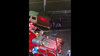 電車人身死亡事故後の処理 2017/6/23 thumbnail