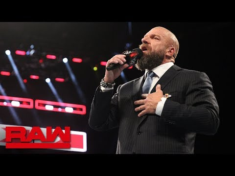"Triple H to Undertaker: ""I will put you down"": Raw, Sept. 10, 2018"