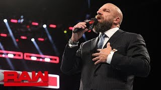 """Triple H to Undertaker: """"I will put you down"""": Raw, Sept. 10, 2018"""