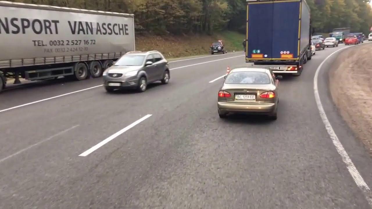 Новини Львова ДТП Львів окружна - YouTube