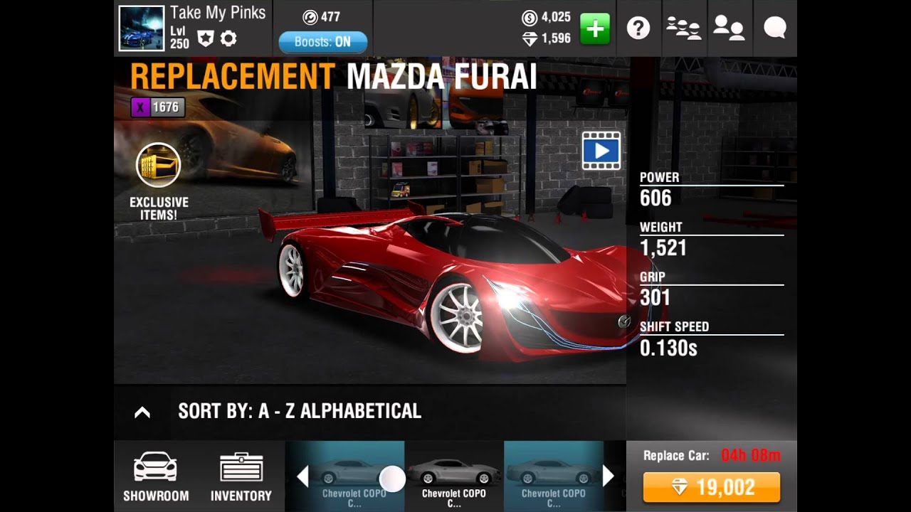 Racing Rivals Best Car For Pinks