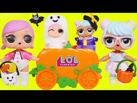 L.O.L. Surprise! Dolls Baby Babysit Lil Sisters Barbie Accessorize Playmobil Holiday Wave 3 Unboxed!