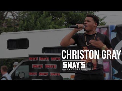 Christon Gray Performs