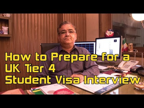how to prepare for a uk tier 4 student visa Interview