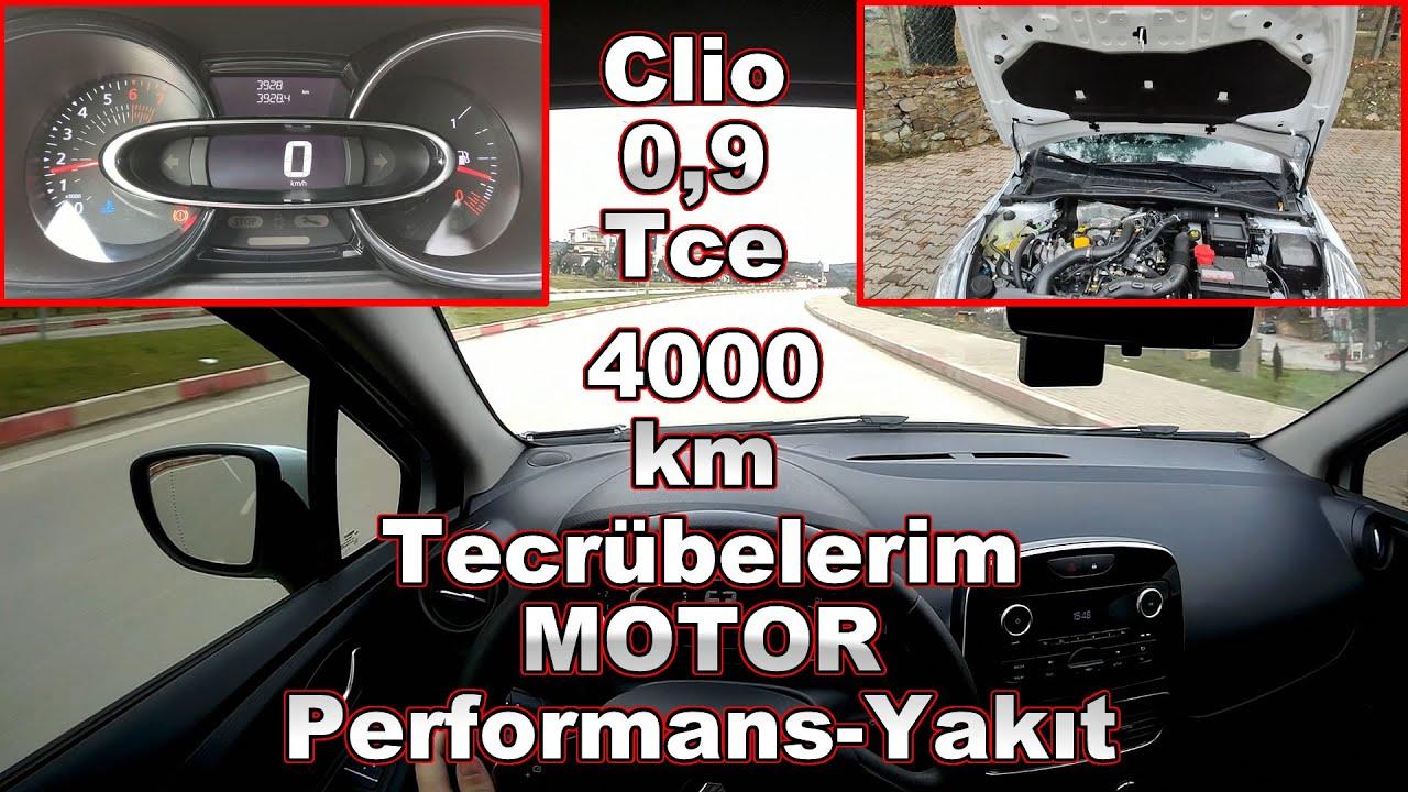 Clio 0.9 Tce 4000 Km Tecrübelerim I Motor Performans-Yakıt