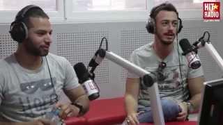 SAAD LAMJARRED ET DJ VAN DANS LE MORNING DE MOMO SUR HIT RADIO - 07/04/14