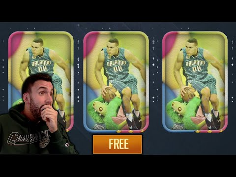 FREE TRIALS PACKS IN NBA LIVE MOBILE!!