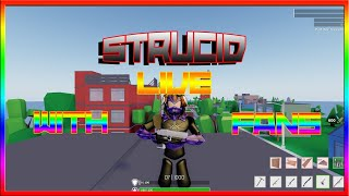 🔴ROBLOX STRUCID *VIP* - ROAD TO 260 SUBS Playing With FANS! !vip !discord🔴