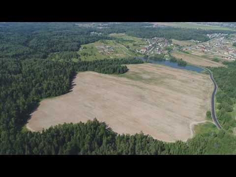 Проект Полесье. Земля под строительство коттеджного поселка в Подмосковье.