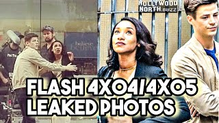 Flash 4x04/4x05 Leaked Photos ! The Breacher On Set ! Flash Season 4 !!!