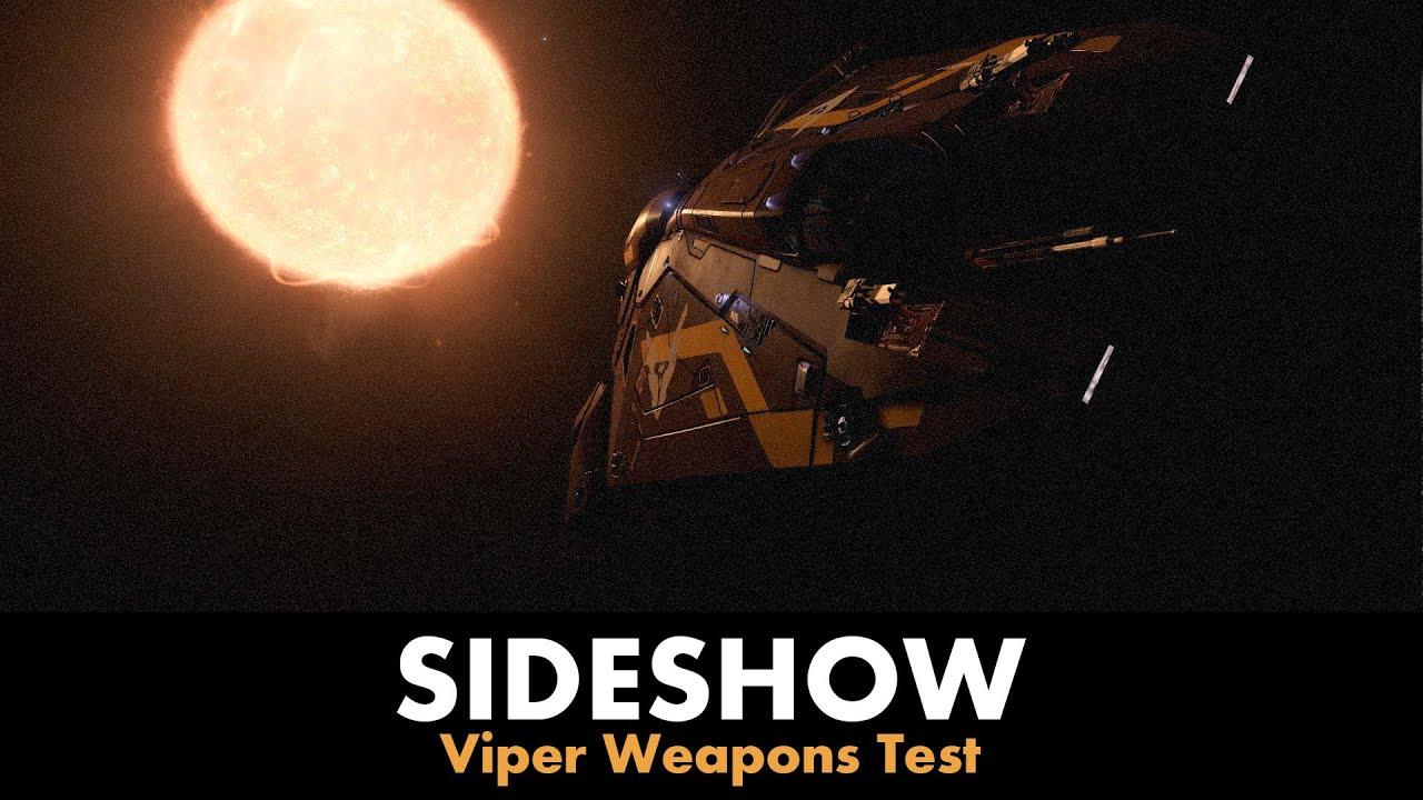 sideshow viper weapons test elite dangerous youtube. Black Bedroom Furniture Sets. Home Design Ideas