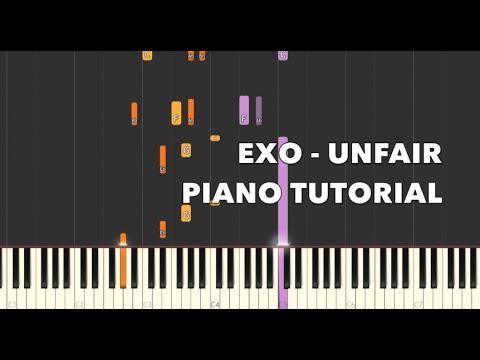 EXO - 불공평해(Unfair) (Piano Cover) - Tutorial