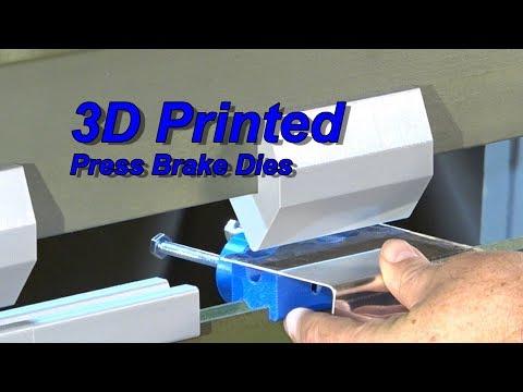 3D Printed **Press Brake Dies* *That Really Work**