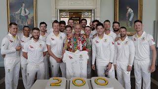 An Aussie super-fan's unique journey to 200 Tests