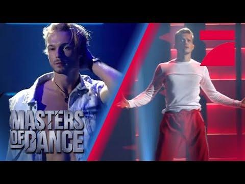 Leichtfüssig wie Wasser - Zwei Solo-Jungs beeindrucken die Jury | Masters of Dance | ProSieben
