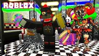 FIVE NIGHTS AT FREDDY'S 6 EN ROBLOX!!! - LEFTY'S PIZZERIA ROLEPLAY DE FNAF 6