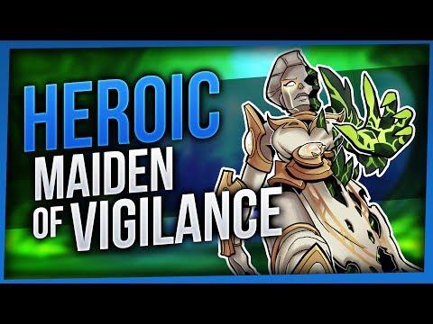 Maiden of Vigilance | Heroic Tomb of Sargeras | Enhancement Shaman [WoW Legion 7.2.5]
