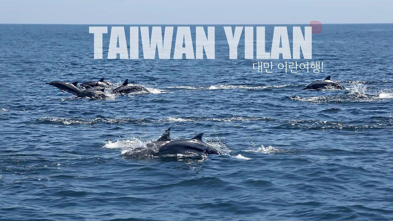 대만 이란(TAIWAN Yilan/宜蘭) 돌고래 여행♥