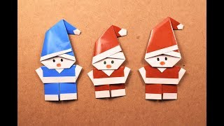 How to Make an Origami Santa Claus? | DIY | Craft Ideas