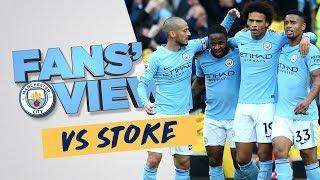 A SENSATIONAL 7 | Man City 7-2 Stoke |  FANS
