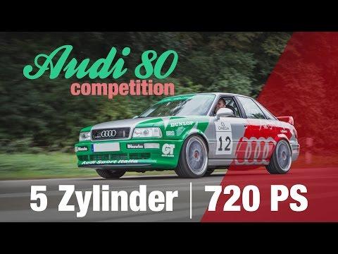 Audi 80 Competition: STW Nachbau mit 720 PS