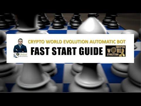 Auto Trade Crypto Bot - Crypto World Evolution Presenttion