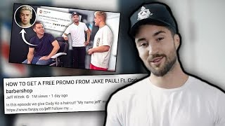 JAKE PAUL GETS TROLLED BY JEFF WITTEK AND IT'S EMBARRASSING