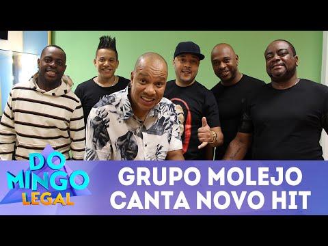 """Grupo Molejo canta novo hit """"Vem Ni Mim""""   Domingo Legal (08/07/2018)"""