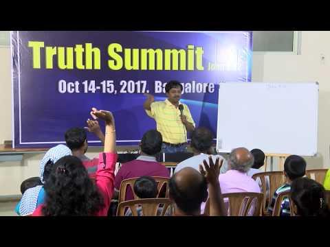 Truth Summit @ Bangalore: Lesson #1 What is truth? சத்தியம் என்றால் என்ன? (Tamil)