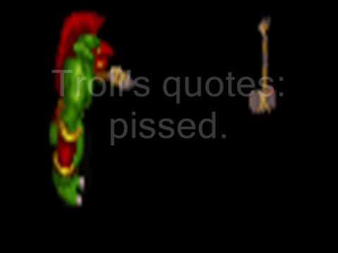 Warcraft Ii Troll Axethrower Berserker Quotes Youtube