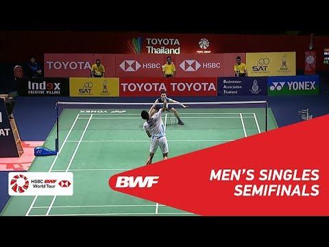 SF | MS | CHOU Tien Chen (TPE) [3] vs. LEE Zii Jia (MAS) | BWF 2019