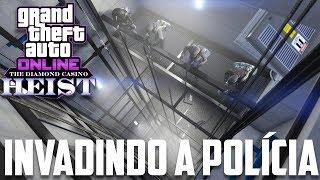 GTA V DLC  Heist do Cassino - Invadindo a Policia Federal