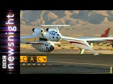 When will Virgin Galactic fly into space? - Newsnight
