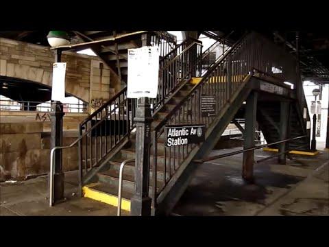 BMT Canarsie Line: Atlantic Avenue tour (Before 2015-2016 renovation)