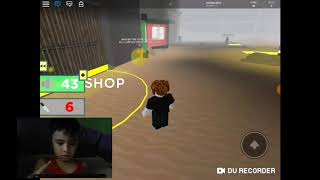Vlog022 Playing Roblox (Survive Area 51)