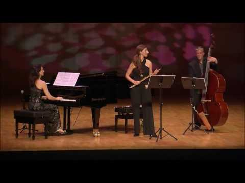 Cristina Casale plays CLAUDE BOLLING  Suite for flute & jazz piano trio  VII. Veloce
