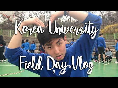 Korea University Field Day Vlog!