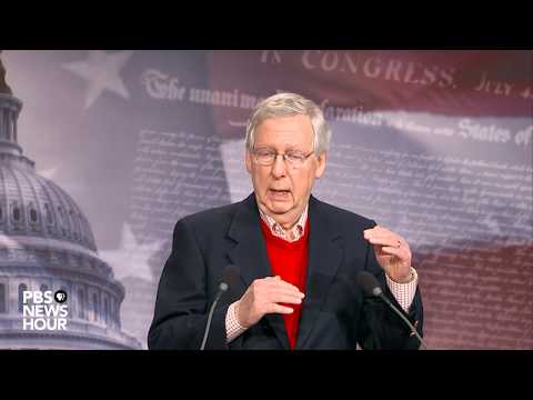 WATCH: Senate Majority Leader McConnell holds year end news conference