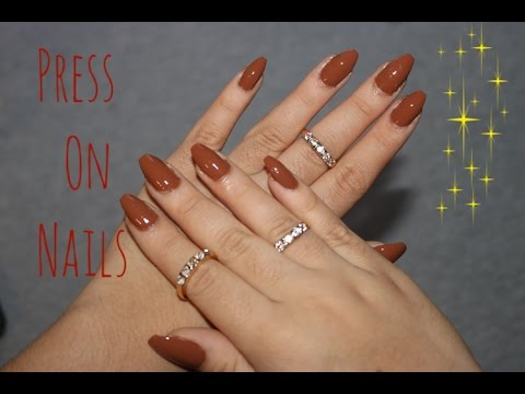 HOW TO Non-Acrylic Press On Nails