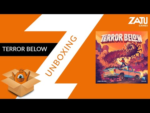Terror Below Unboxing
