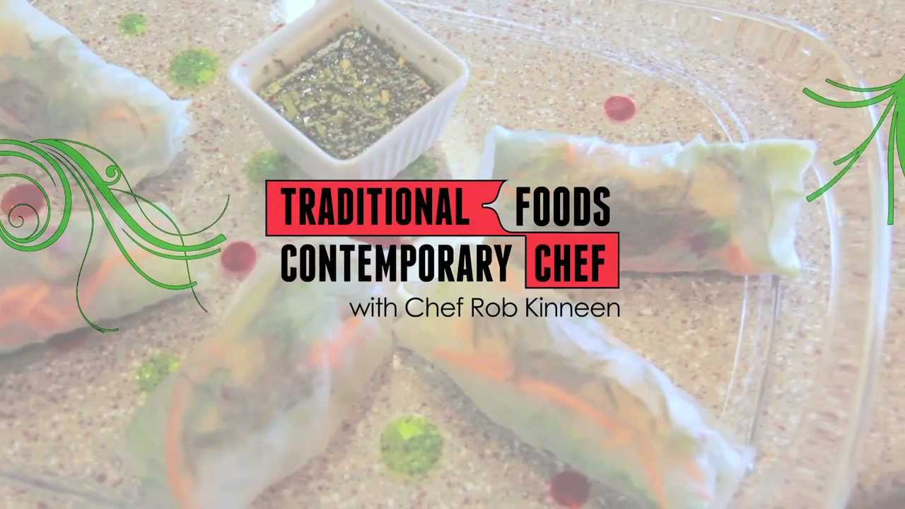 Alaskan fresh roll traditional foods contemporary chef for Alaskan cuisine traditional