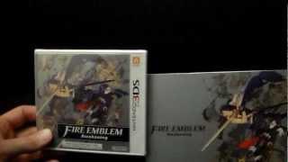 Fire Emblem Awakening Unboxing with PRE-ORDER ART BOOK