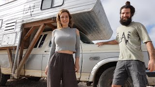 Fixing our Truck Camper Lucky LeAw before it's too late