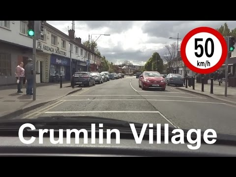 Dash Cam Ireland - Crumlin Village, Dublin 12